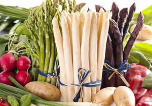 acido folico in asparagi
