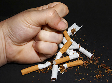 le sigarette sono nemiche dello star bene