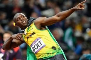 Usain Bolt, campione anche a tavola