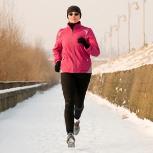 jogging in inverno