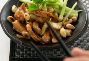 pollo alle mandorle - dieta colesterolo