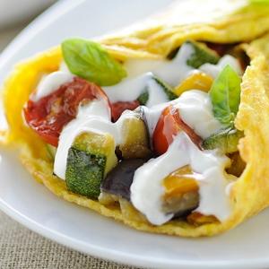 Omelette dietetica