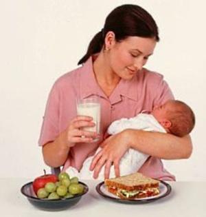 dieta allattamento calorie