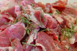 carne di pecora