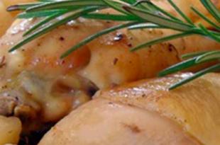 pollo rosmarino