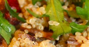 quinoa nocciola funghi
