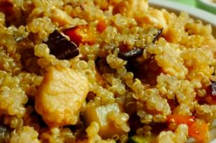 quinoa pollo