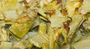carciofi forno