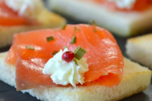 tartine salmone light