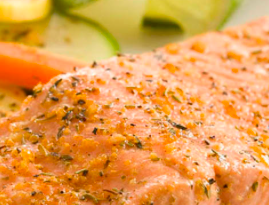 salmone al forno light