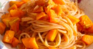pasta integrale dadini zucca