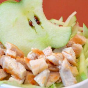 insalata pollo e mele