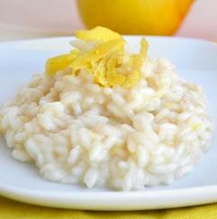 risotto limone