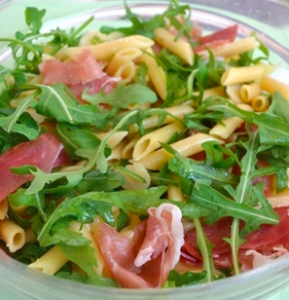 rucola speck insalata