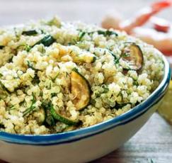 quinoa zucchine