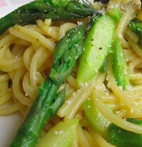 carbonara asparagi