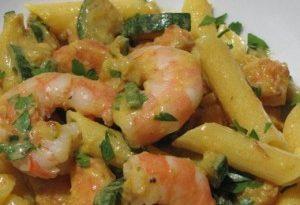 pasta-zucchine-e-gamberetti-light