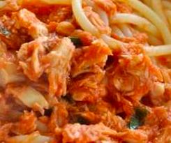 tonno spaghetti