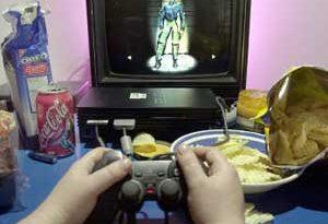 videogames fanno ingrassare