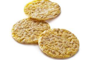 Le gallette di mais sono dietetiche?