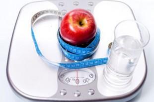 Bilancia per calorie in una dieta