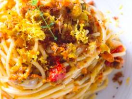spaghetti fiori di zucca