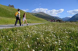 dimagrire con le passeggiate in montagna