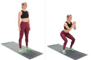 per eseguire correttamente lo squat, segui i nostri consigli ed evita i seguenti errori