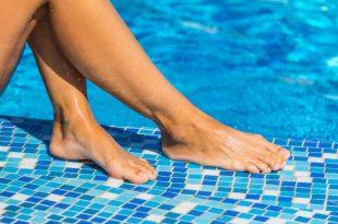 Come evitare il contagio del piede di atleta