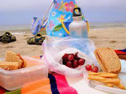 pranzo al sacco in estate